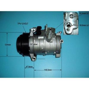 Compressor (AirCon Pump) Chrysler 300 C 3.0 CRD Diesel Manual/Automatic (Aug 2005 to Dec 2008)