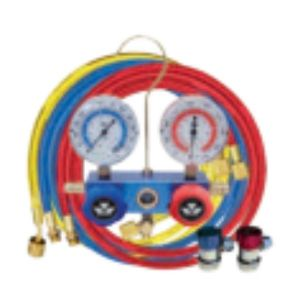 ELKE 2 WAY MANIFOLD GAUGE SET for r134a