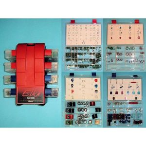 4 Tray, 604 PIECE Professional O Ring Kit
