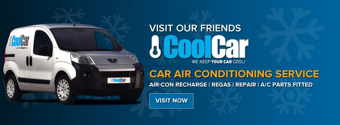 air con recharge with Cool Car